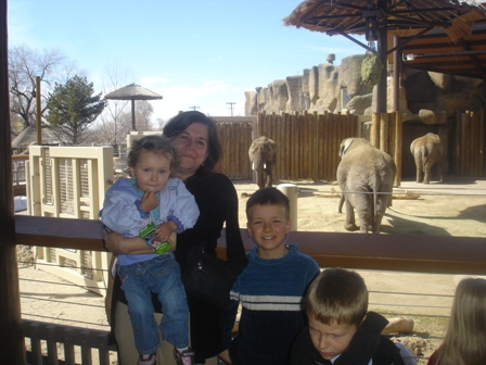 At the Zoo with Grandma